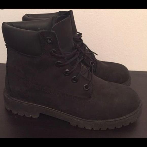 Black Womens Timberland Boots
